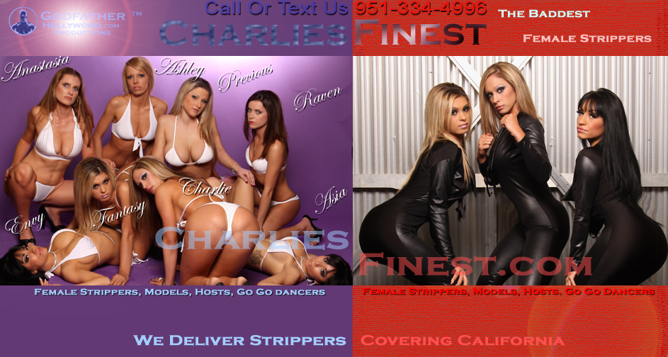 Strippers Black Clothes